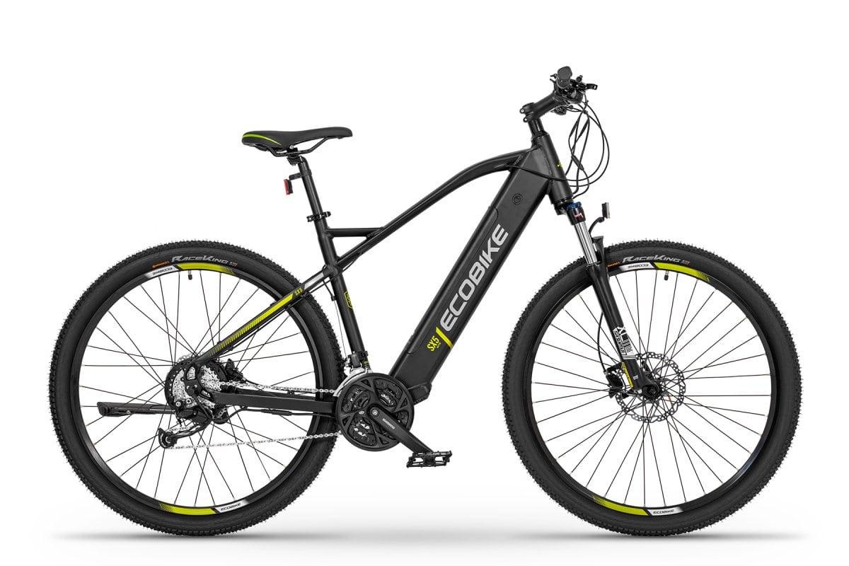"""VTC Electrique Homme Ecobike SX5 Noir 20"""" 468Wh"""