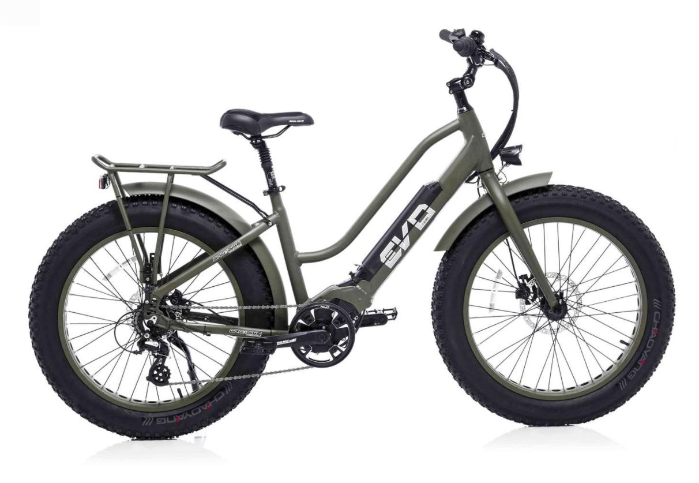 Velo Electrique Femme Fat Bike Bad Bike EVO 250W vert