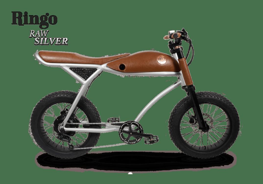 Rayvolt Retro Fat Bike Electrique Vintage 70s Ringo Aluminium 380Wh