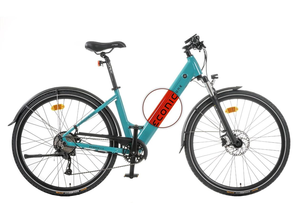Velo Electrique Femme Econic One Comfort M 44cm Rouge