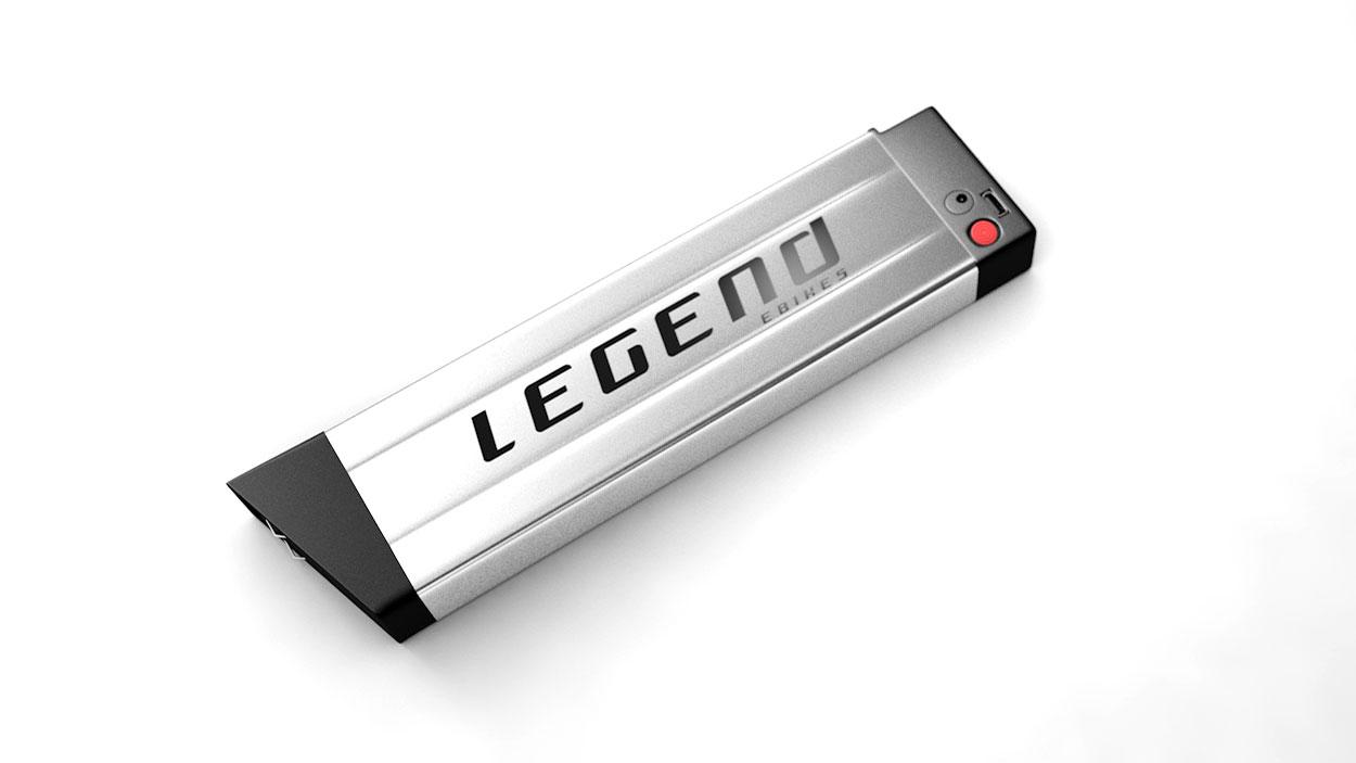 Legend batterie de rechange pour Etna ou Monza 36V 10,4ah Sanyo-Panasonic