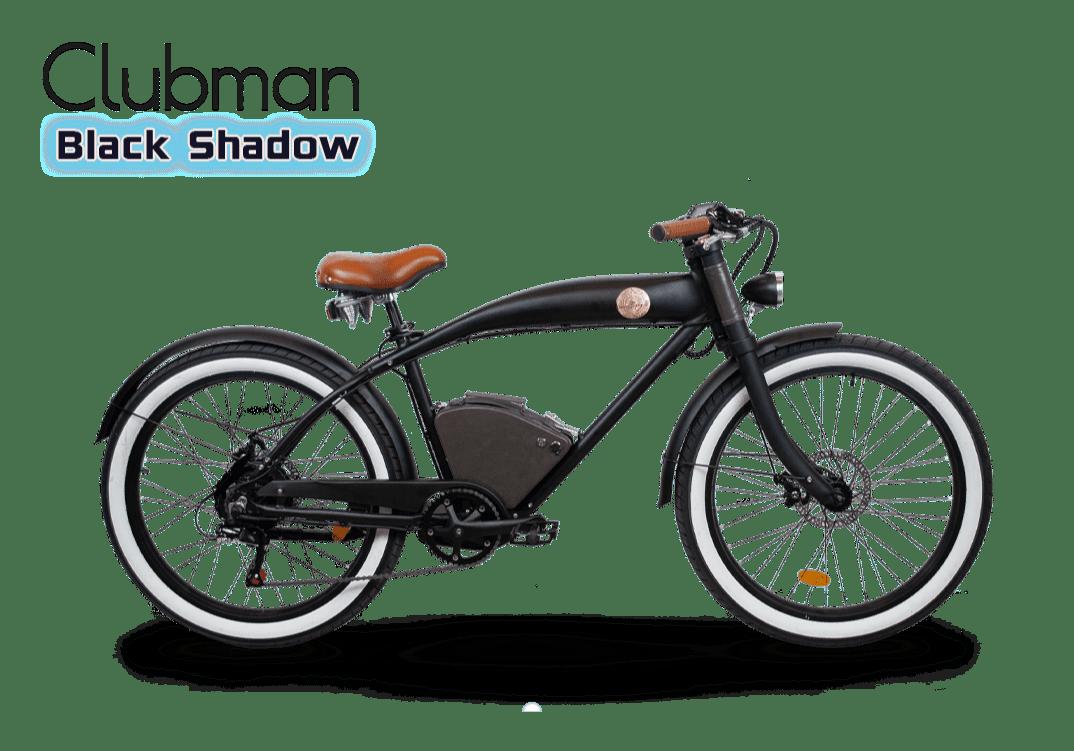 Rayvolt E Bike Cruiser Clubman noir Standard batterie