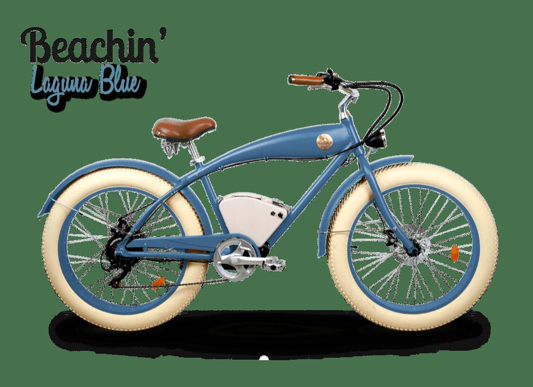 Fat Bike Electrique Rayvolt Beachin bleu Standard batterie
