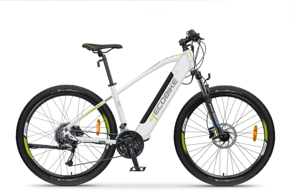 VTC Electrique Homme Ecobike SX3 Blanc 576Wh