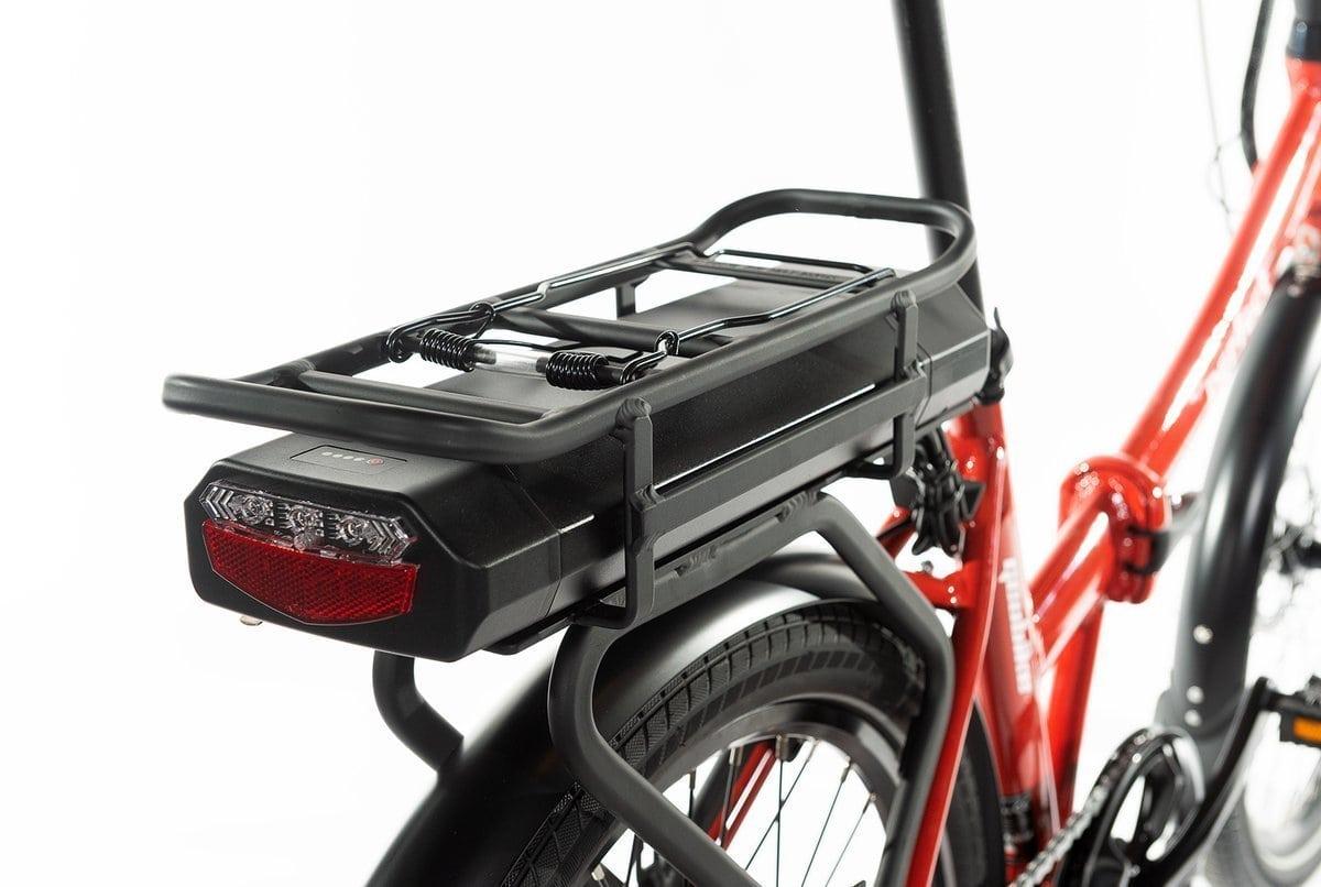 Smart Velo Electrique Pliant 24 pouces Perfect 2.0 rouge 374Wh