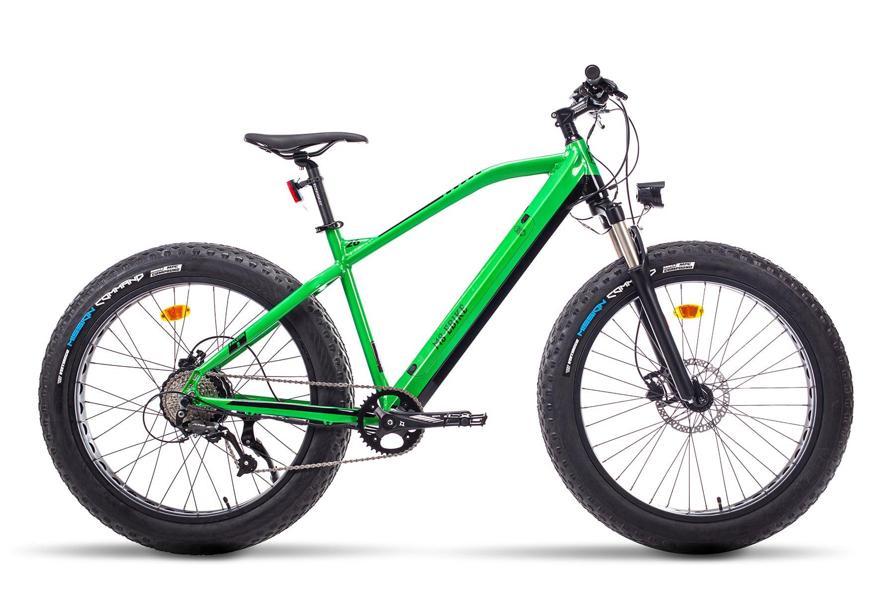 Fat bike Electrique VTT Falcon Vert