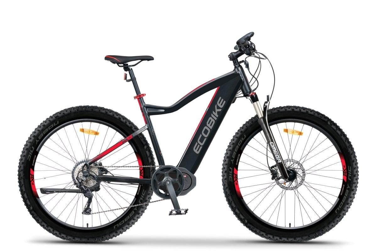 VTT Electrique Speed Bike Moteur Pedalier 45km/h Ecobike RX500 M 624Wh