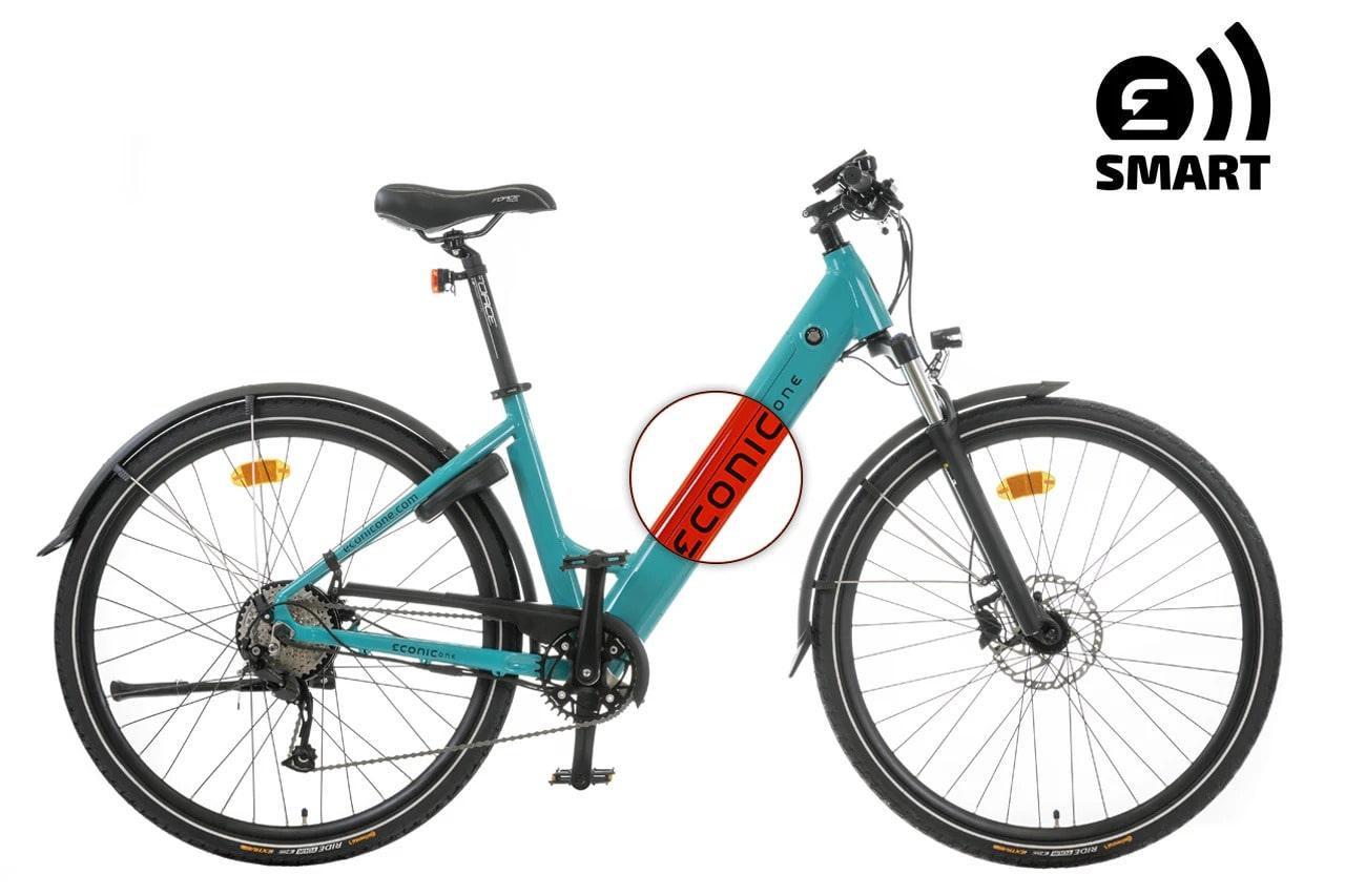 Velo Electrique Femme Econic One Smart Comfort M 44cm Rouge